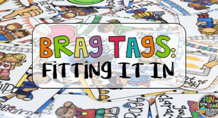 Fit Brag Tags into Your Already Busy Day!