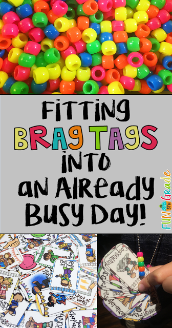Check out this post for tips on quickly handing out your brag tags in the classroom. Brag tags a great motivational tool for students in grade 1, 2, 3, 4, 5, and 6. Click to see how I do it today!