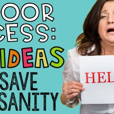 Indoor recess got you down? Check out this post for 20+ ideas to keep it your sanity and make it FUN for your students. Games, activities...