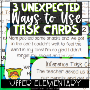 Must Haves for Upper Elementary