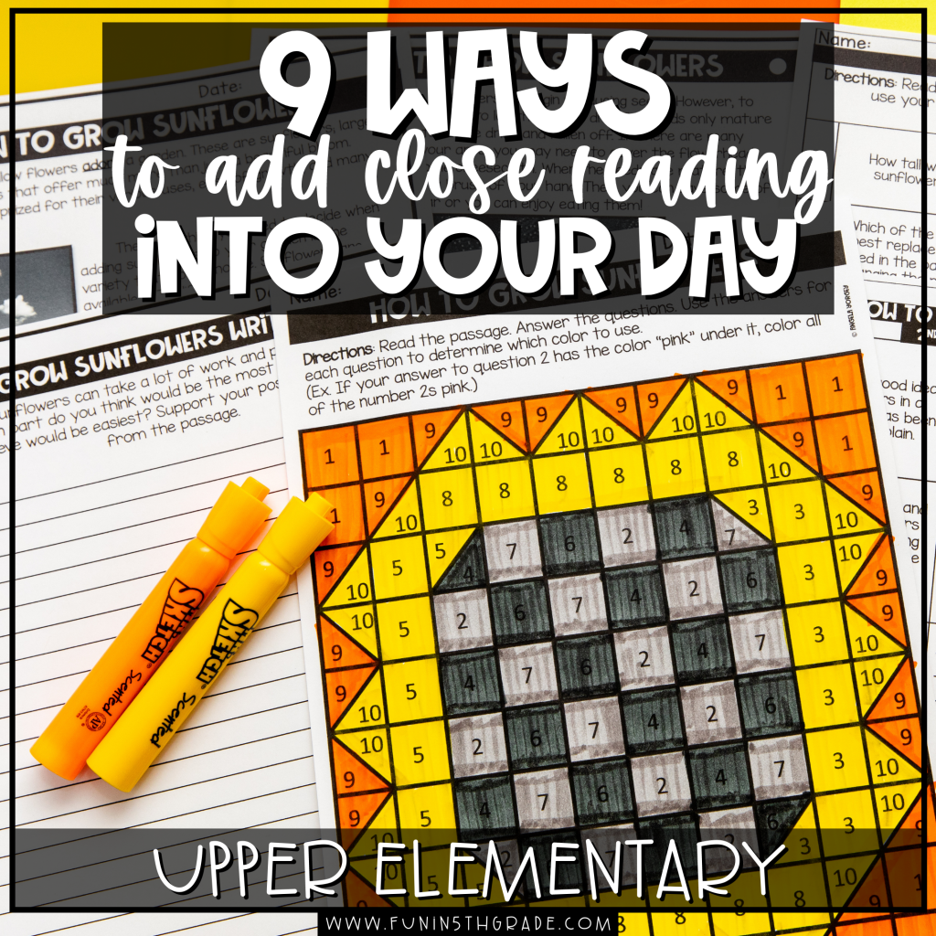 9 Ways to Add Close Reads into Your Day