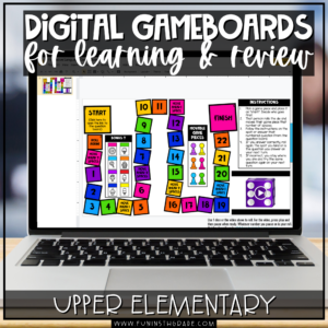 Digital Game Boards for Learning and Review