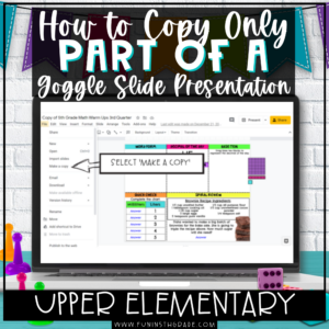 How to Copy Part of a Google Slide
