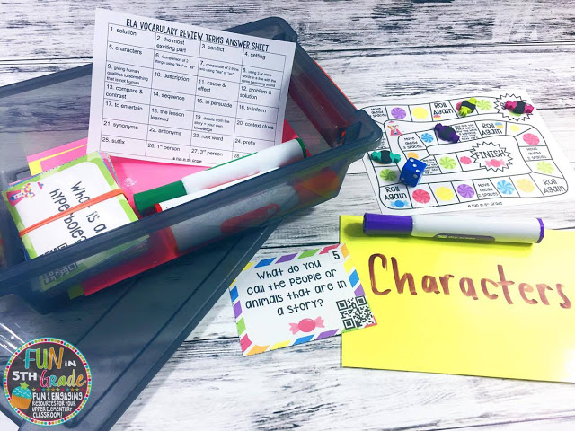 Want to spiral concepts in a FUN way? Click to see how I use games to spiral review concepts in my classroom. Students LOVE these activities and it make them want to practice!
