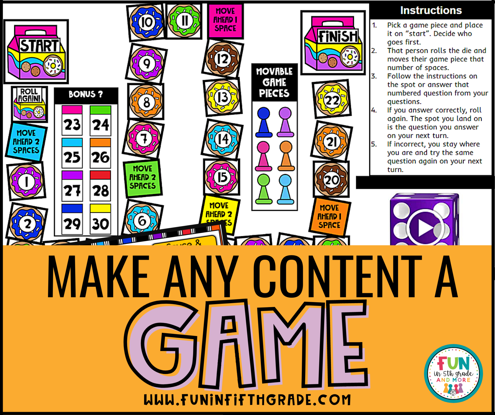 make any content a game