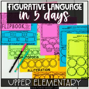 Introducing Figurative Language in 5 days
