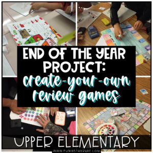 End of Year Project: Create-Your-Own Review Game