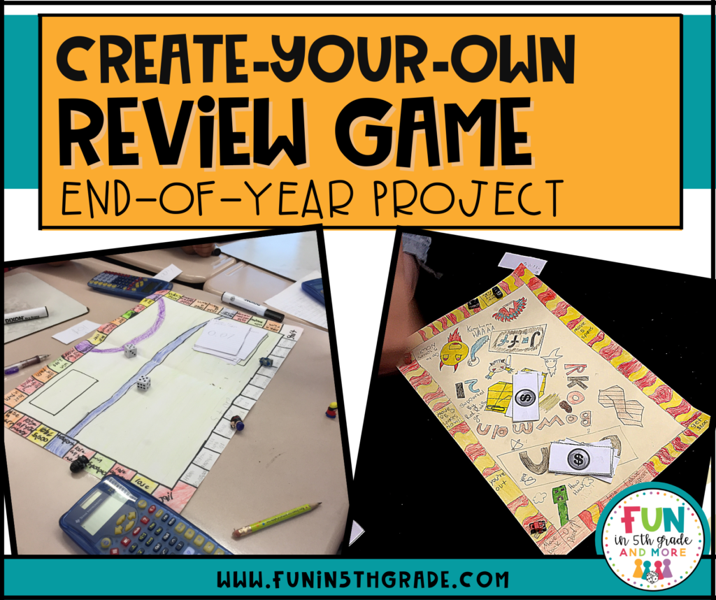 create-your-own review game project