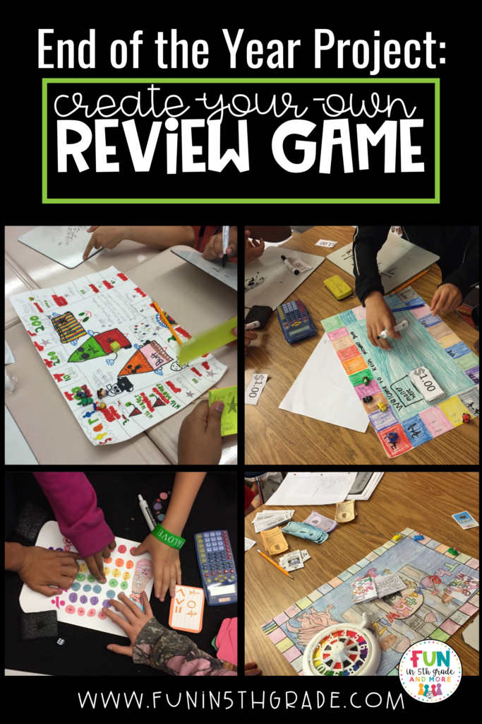 create-your-own review game