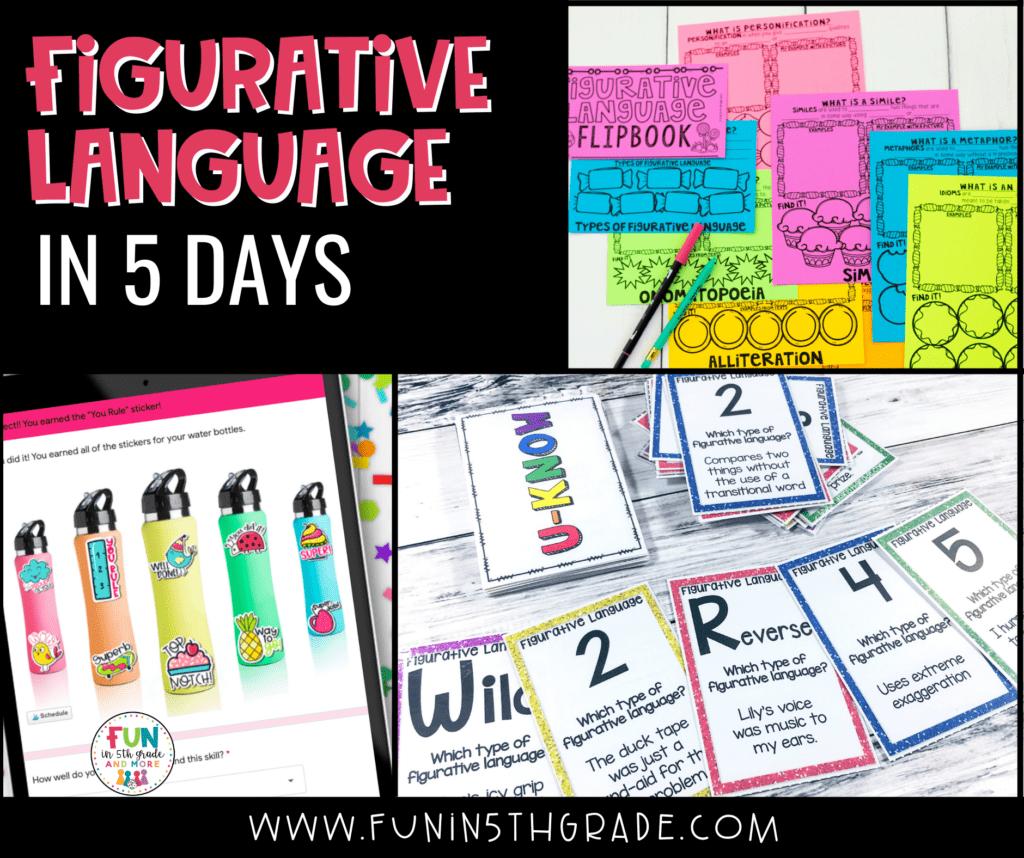 Figurative Language in 5 days