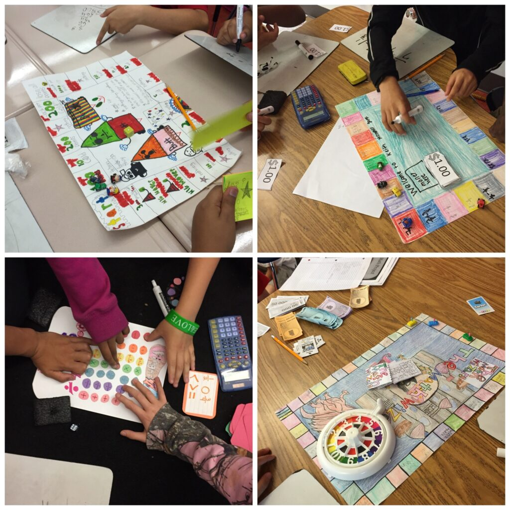 End of Year Project: Create Your own review game