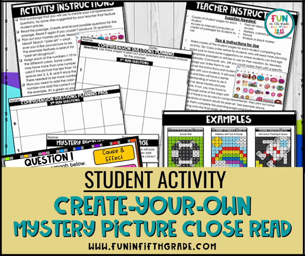 Student Activity: Create-Your-Own Close Read with Mystery Picture