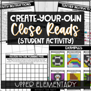 Student Activity: Create-Your-Own Close Reads with Mystery Pictures