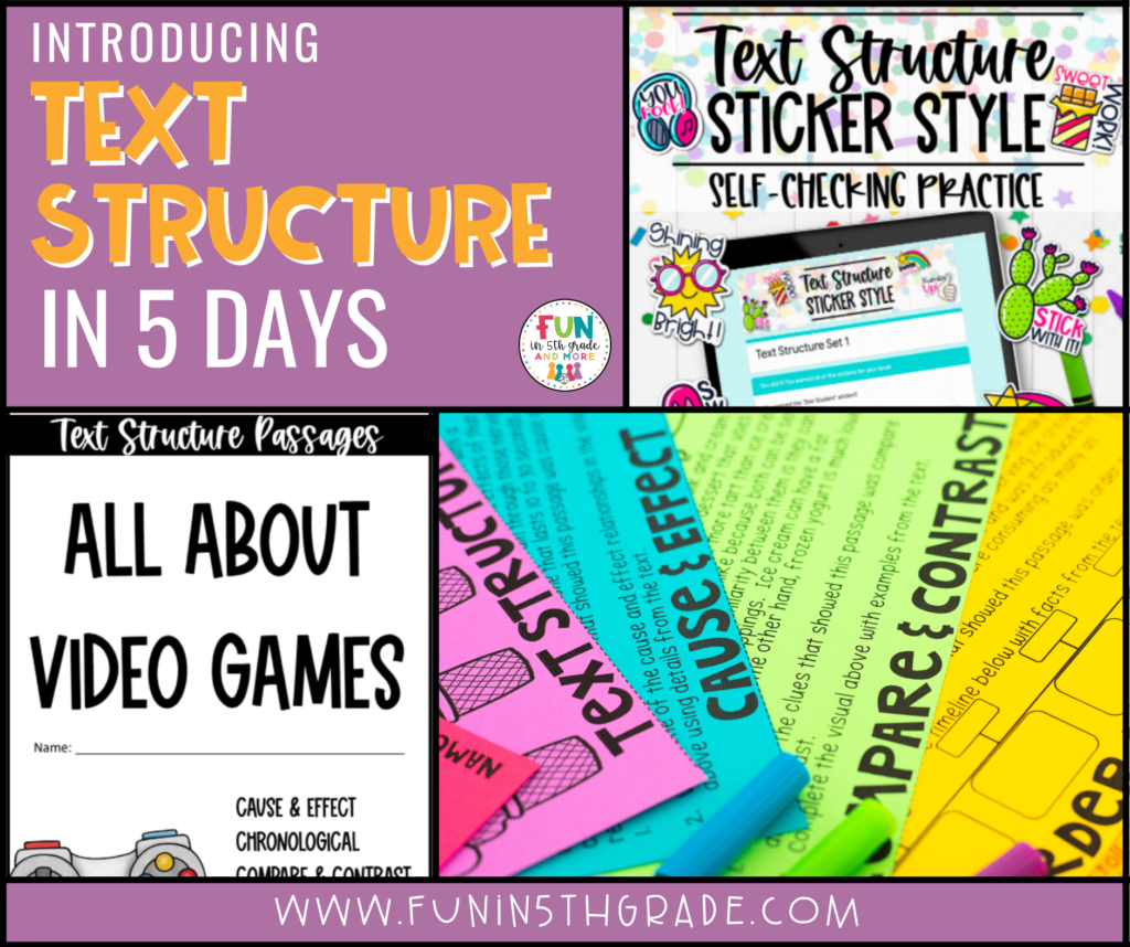 Introducing Text Structure