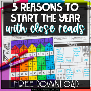 5 Reasons to Start the Year with close Reads