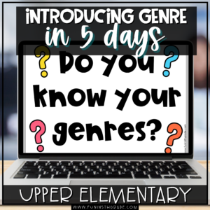 Introducing Genre in 5 Days