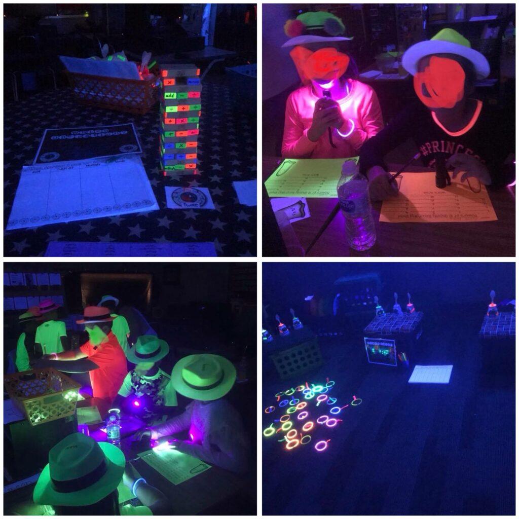 Halloween Glow Games