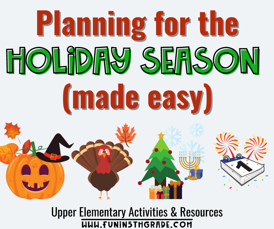 Planning for the Holiday Season made easy