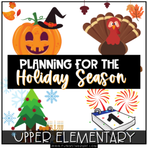 Planning for the holiday season