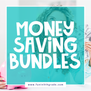 Money Saving Activity Bundles